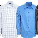 DERBY OF SWEDEN Herren Langarm Hemden ab je 9,99€