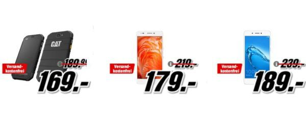 Media Markt Smartphonefieber: z.B. HONOR 6c 32 GB für 189€