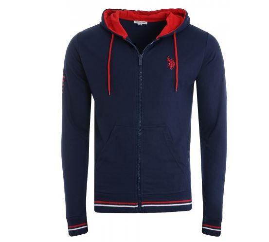 U.S. POLO ASSN. Sweat Jacken mit Kapuze für je 29,99€