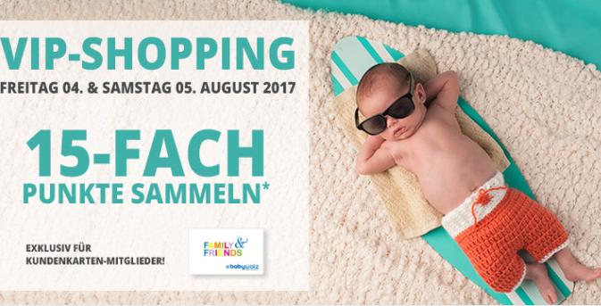 VIP Shopping bei Baby Walz mit 10€ (MBW: 59€) oder 25€ Rabatt (MBW: 149€) + 15 fache Punkte