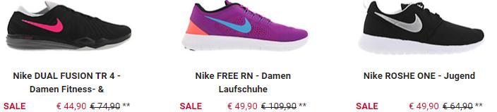 Runners Point Nike Sale + 15% Extra Rabatt + VSK frei ab 35€   z.B. AIR ZOOM PEGASUS 33 für 67,91€ (statt 79€)