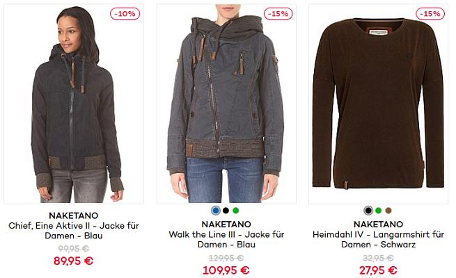 Wieder da: NAKETANO Sale + 15% Gutschein