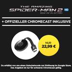 Google Chromecast 2 + HD Stream: The Amazing Spider-Man 2 für 22,99€