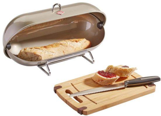 Vorbei! Wesco Breadboy Brotbox + Brotmesser + Schneidebrett statt ~70€ ab 33,94€
