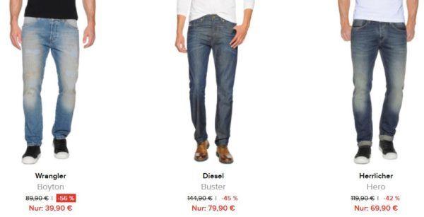 dress for less bis 70% Rabatt auf alle Jeans bis Mitternacht   z.B. Tommy Hilfiger Roman ab 45€