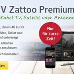3 Monate Zattoo Premium kostenlos (statt 29,97€)