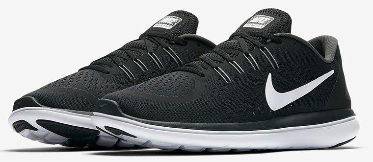 Nike Flex 2017 RN Sneaker in Schwarz für je 44,78 (statt 52€)