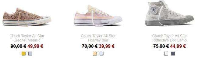 TOP! Converse Sale bis  50% + bis zu 50% Extra Rabatt + VSK frei
