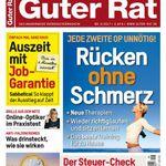 """12 Ausgaben """"Guter Rat"""" für 31,20€ + 25€ Verrechnungsscheck"""