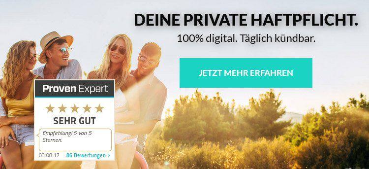 TOP: Privathaftpflicht inkl. Drohnenversicherung als Flatrate für 66€ pro Jahr
