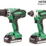 Hitachi-Set – Bohr- und Schlagschrauber + 2 Akkus in Koffer für 168,90€ (statt 378€)