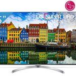 LG 65SJ810V – 65 Zoll UHD Fernseher mit 120Hz und Harman Kardon Soundsystem für 1.399€ (statt 1.549€)