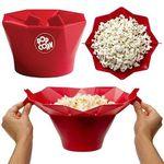 Popcorn-Maker aus Silikon für die Mikrowelle in 2 Farben für je 5,81€