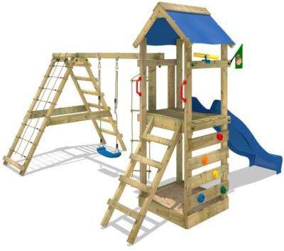 WICKEY StarFlyer   Spielturm mit Schaukel und Rutsche für 349,95€ (statt 460€)