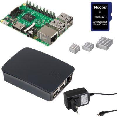 Raspberry Pi 3B Bundle mit Gehäuse und Zubehör für 44,99€   eBay Plus