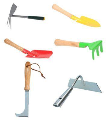 6er Set Kinzo Gartenwerkzeug für 9,99€