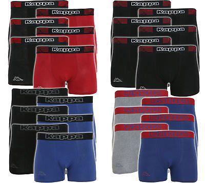 6er Set Kappa Boxershorts   verschiedene Sets für 23,99€ (statt 34€)