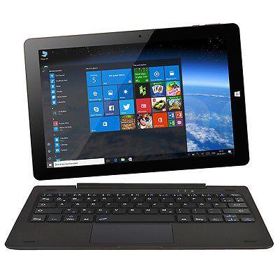 Ninetec Ultratab 10 Pro   10 Convertible Tablet mit Dual OS in 3 Farben für je 99,99€ B Ware (statt 220€)