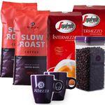 2 kg Altezza Slow Roast + 2 kg Segafredo Intermezzo Kaffeebohnen + 2 Tassen + Kaffeebox für 45,99€