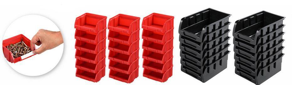 Wandregal mit Stapelboxen 31 teilig für 19,95€ (statt 27€)
