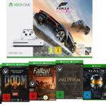 MICROSOFT Sparket: Xbox One S 500 GB inkl. 9 Spiele für 345,-€ uam. im Media Markt Dienstag Sale