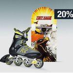 20% Rabatt auf viele Sportmarken, Rollsport & Funwheels, Schreibwaren uvm. – Galeria Kaufhof Mondschein Angebote