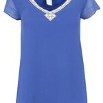 Ashley Brooke Damen Blusen-Shirt  (3754) in Blau ab 7,99€ – Restgrößen