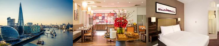 1   5 ÜN in London im 4* Hotel + Frühstück + Flüge ab 169€