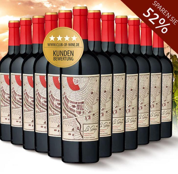 La Granja 360° Cariñena   12Flaschen trockener spanischer Rotwein für nur 36,90€
