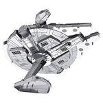 Mini Millennium Falcon 3D Metall-Modell/Puzzle für 2,12€