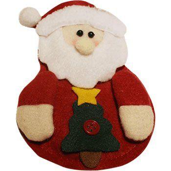 Weihnachtsmann Tischdeko für 0,08€