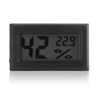 Mini LCD Innenthermometer und Hygrometer für 0,83€