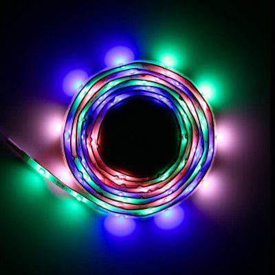 2m LED Streifen mit 60 LEDs (SMD3528) & 9 verschiedene Modi inkl. Timer für 8,60€