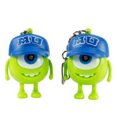 Schlüsselanhänger Monster AG mit kleiner LED für 0,42€