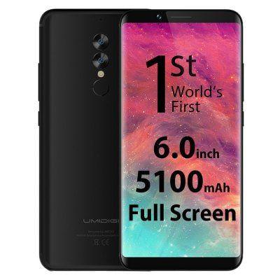Nur Vorbestellung! UMIDIGI S2   6 Zoll Smartphone mit 64 GB für 173,88€