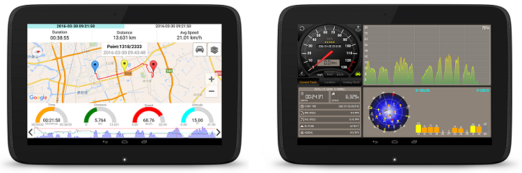 Speedometer GPS HD Pro (Android) kostenlos (statt 0,99€)