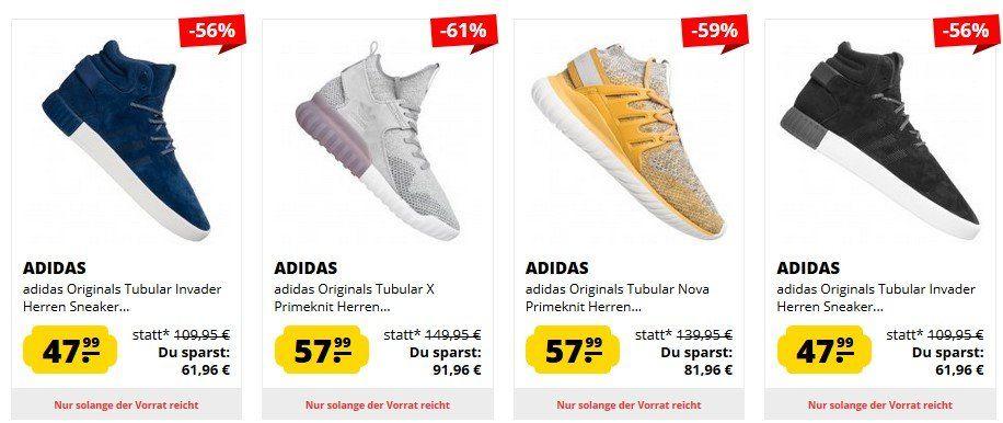 adidas Tubular Sneaker im Sale ab 47€