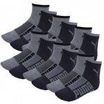12er Pack Puma Basic Quarter Wording Socken für 17,95€ (statt 21€)