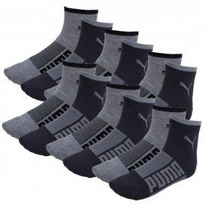 12er Pack Puma Basic Quarter Wording Socken für 15,00€ (statt 21€)
