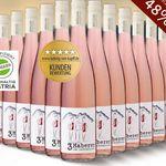3 Haberer – 12 Flaschen Zweigelt Rose´ Wein Österreich 2016 für nur 49,20€