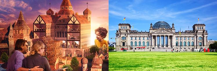 2   4 ÜN in Berlin inkl. Frühstück + Eintritt zu Little BIG City Berlin + City Tax ab 89€ p.P.
