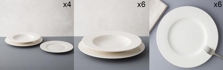 Villeroy & Boch Sale mit Geschirr, Gläser, Besteck   z.B. 6er Set Frühstücksteller Wonderful World für 27€ (statt 46€)