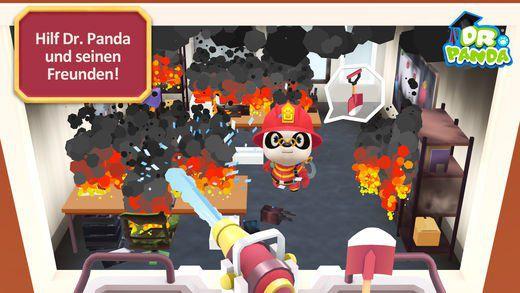 Dr. Panda Feuerwehr (Android) kostenlos (statt 3,49€)