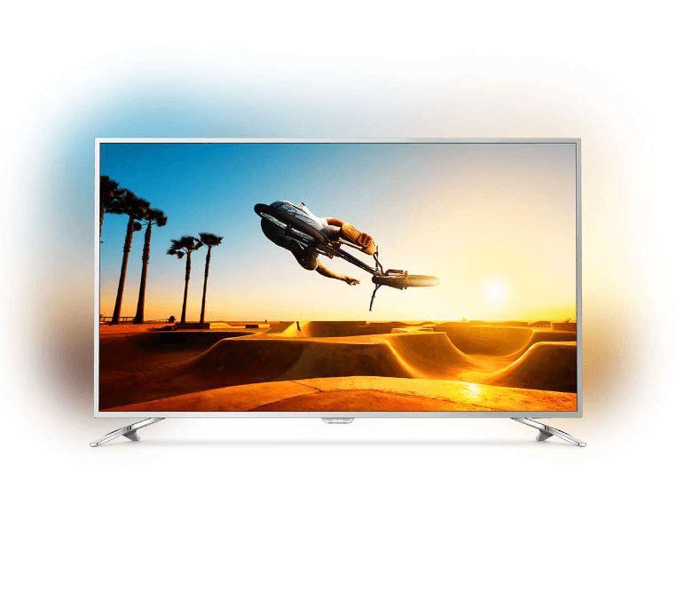 PHILIPS 55PUS7272   55 Zoll UHD Smart TV mit 3 fachem Ambilight für 779€ (statt 1.255€)