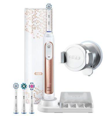 Vorbei! Oral B Genius 9000 Rosegold elektrische Zahnbürste mit Bluetooth für 129,90€   80€ Cashback