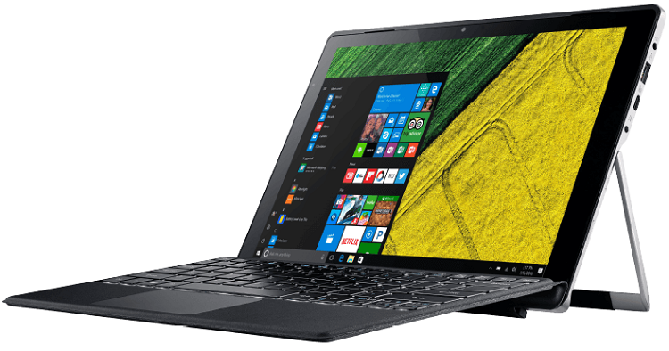Acer Aspire Switch Alpha 12 Pro   12 Convertible mit i5 CPU, 256 GB SSD, 8 GB RAM & Windows 10 für 799€ (statt 1.004€)