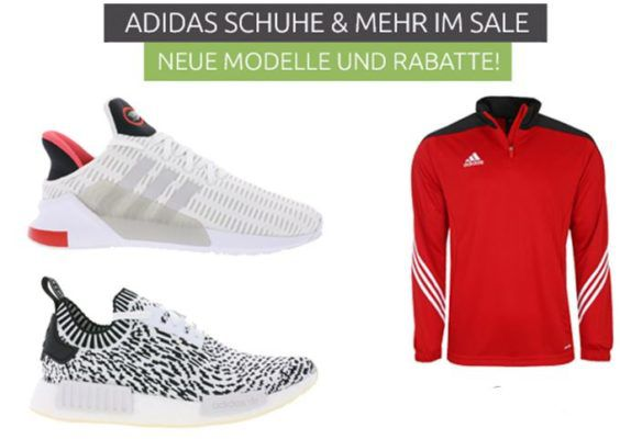 adidas Sale bei Outlet46   z.B. adidas Performance Trainings Hose für 9,99€