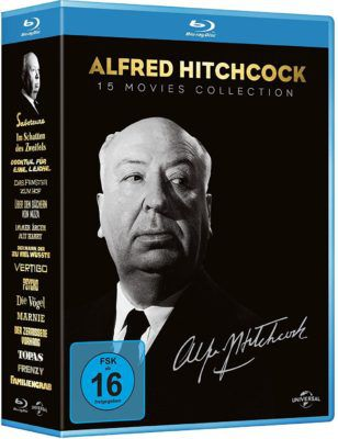 Alfred Hitchcock Collection (15 Blu rays) für 33,69€