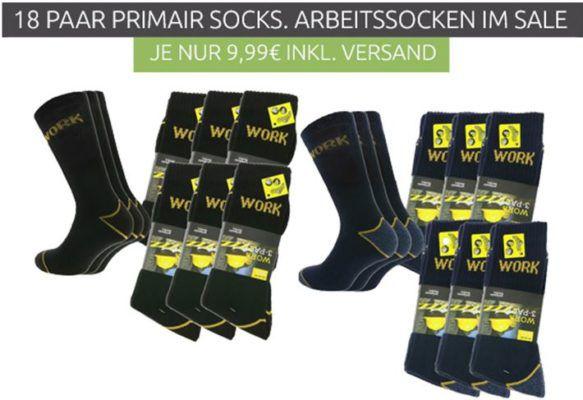 primair socks. Work Socks   18 Paar Herren Arbeitssocken ab 9,99€