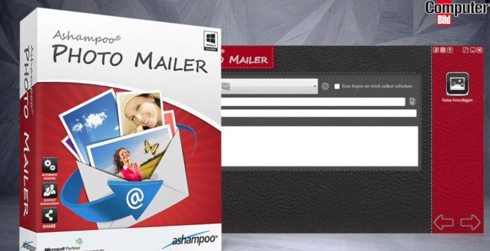 Ashampoo Photo Mailer (Vollversion) gratis
